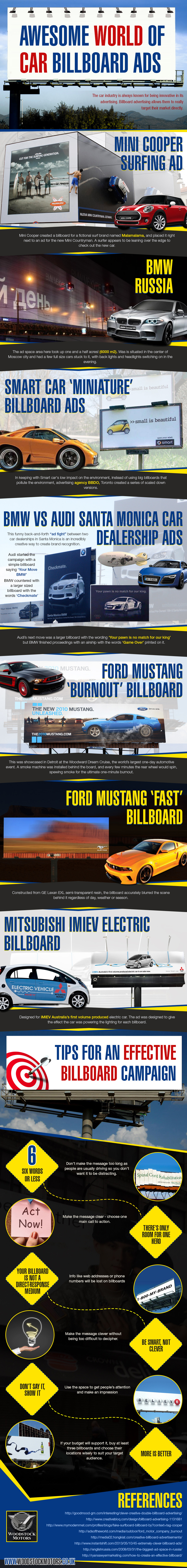 Car Billboards Infographic