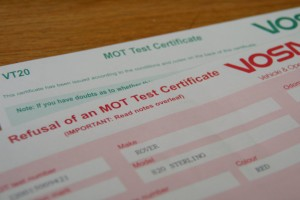 What to do after MOT