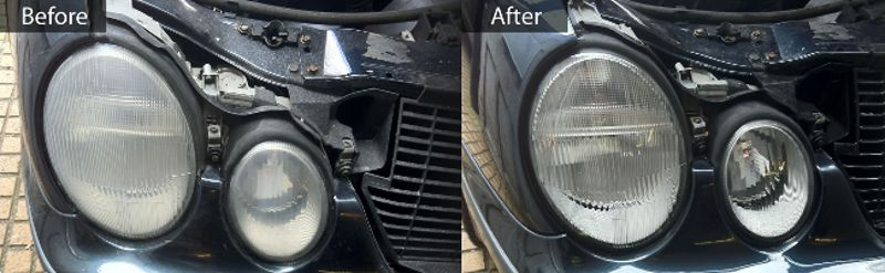 headlamp refurbishment